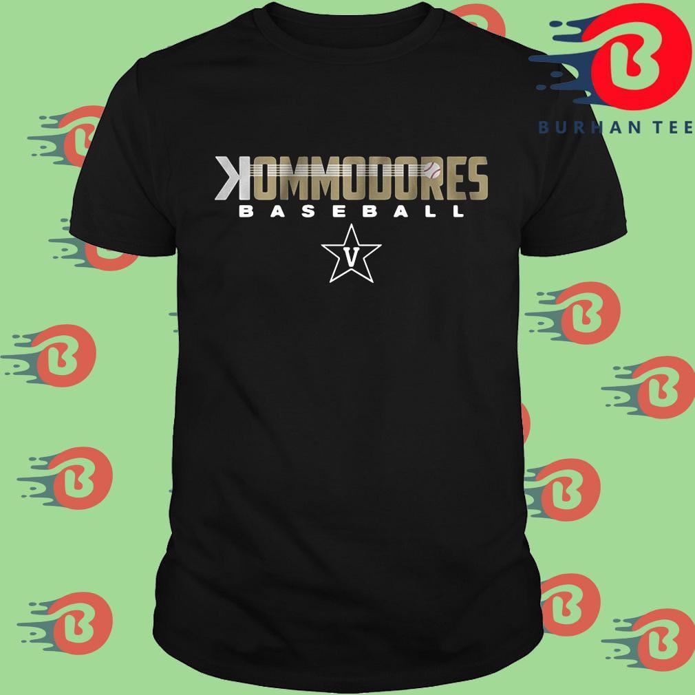 Commodores baseball shirt