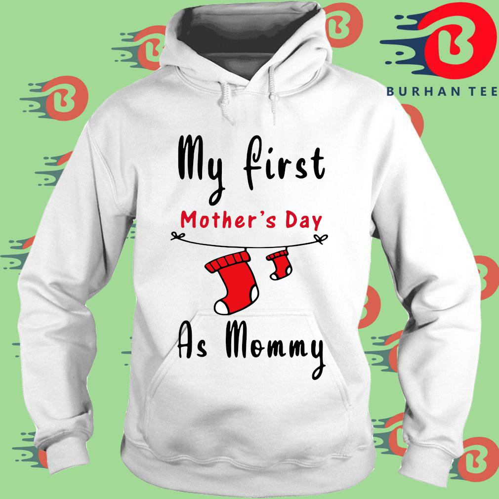 My first mother's day as mommy s trang Hoodie