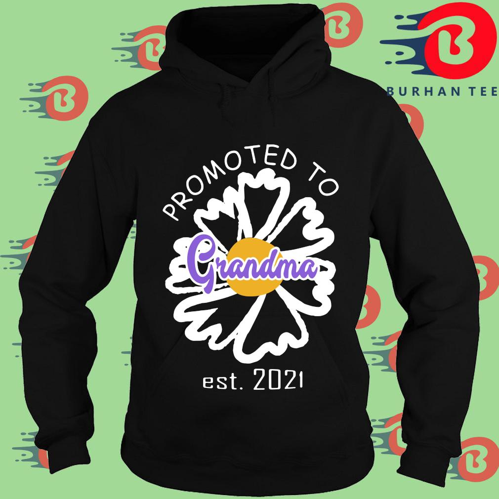 Promoted to grandma est 2021 s Hoodie