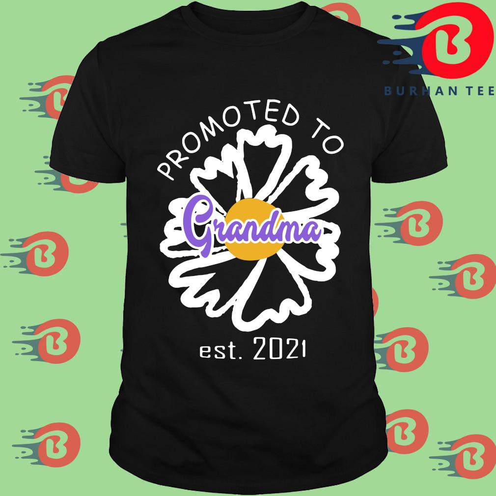 Promoted to grandma est 2021 shirt