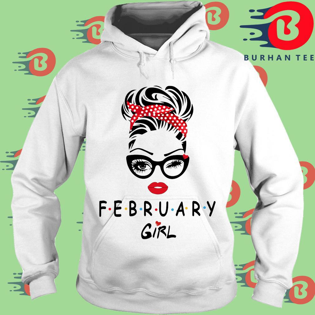 2021 February girl trang Hoodie