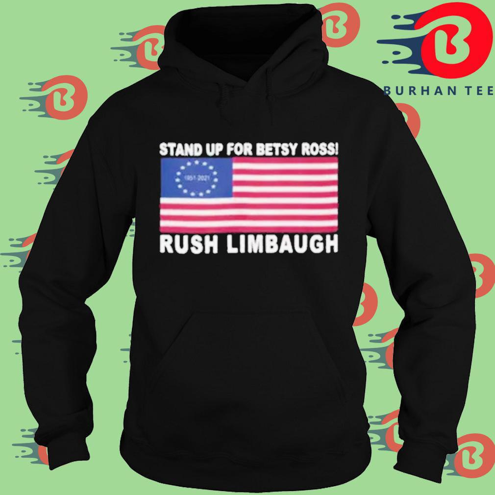 Rush limbaugh stand up for betsy ross American flag Hoodie