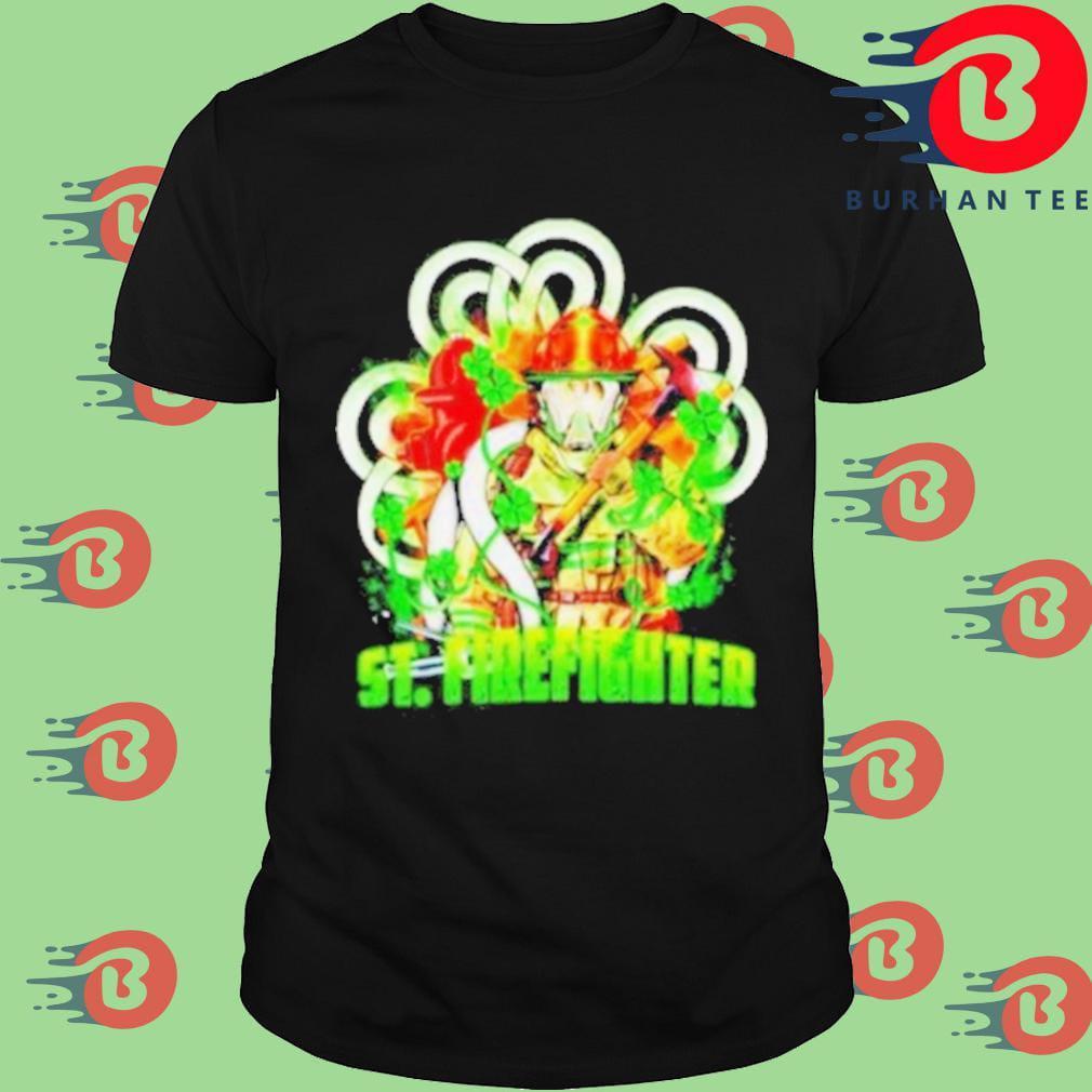 StFirefighter Stpatricks day shirt