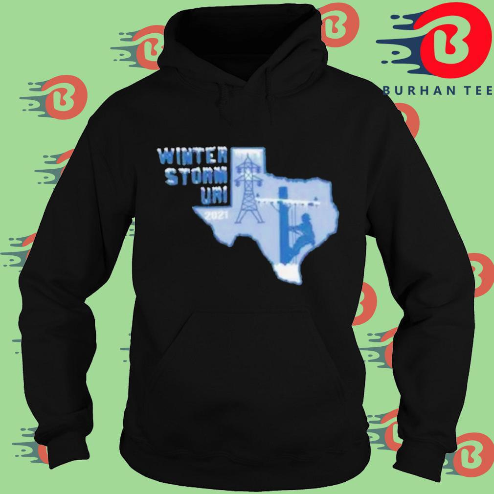 Winter Storm Uri 2021 Texas Strong Hoodie