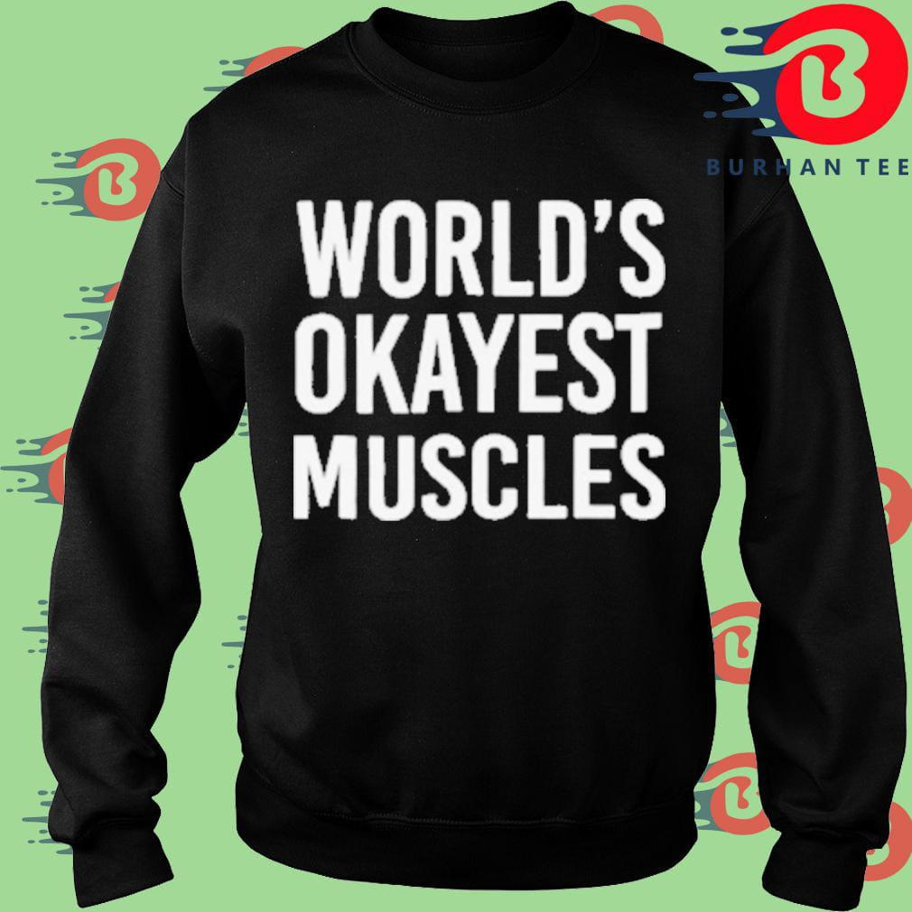 World's okayest muscles Sweater