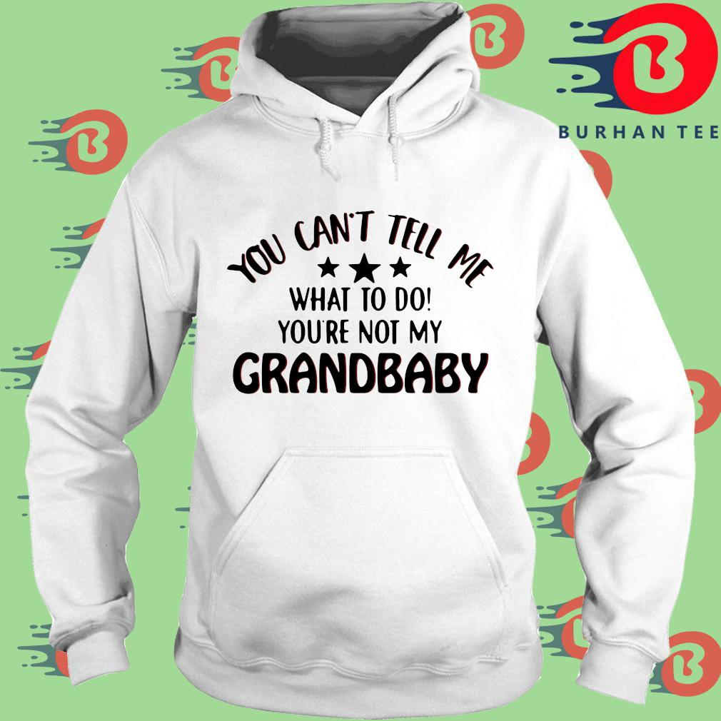 You can't tell me what to do you're not my grandbaby trang Hoodie