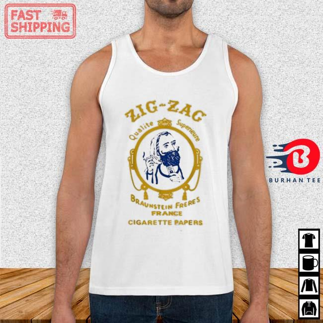 Zigzag Braumsteim Freres France Cigarette Papers Smoking Weed Cigarettes Shirt Tank top trang