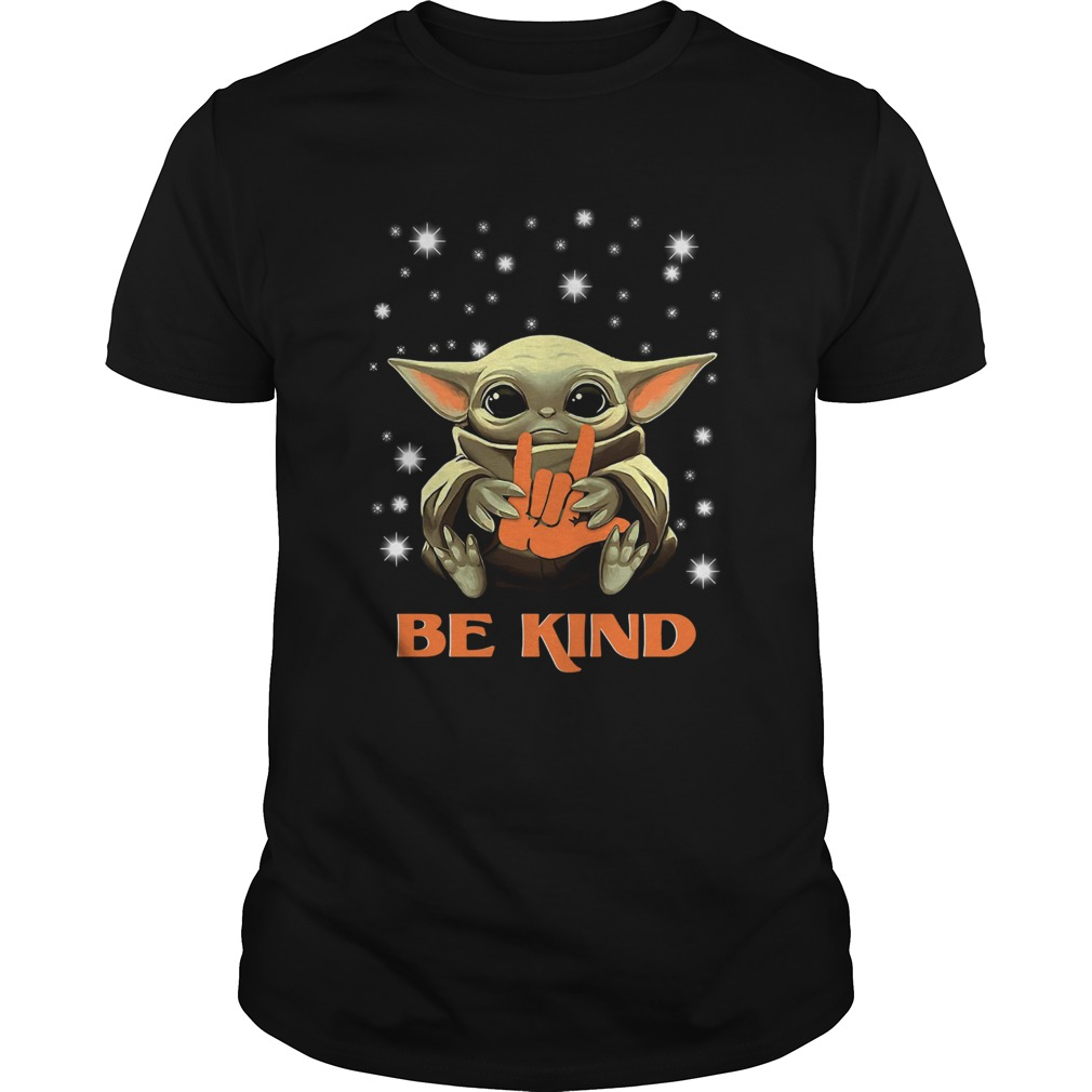 Baby Yoda Hug Be Kind  Unisex
