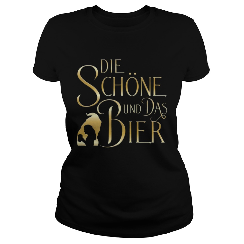 Beauty And The Beast Die Schne Und Das Bier  Classic Ladies