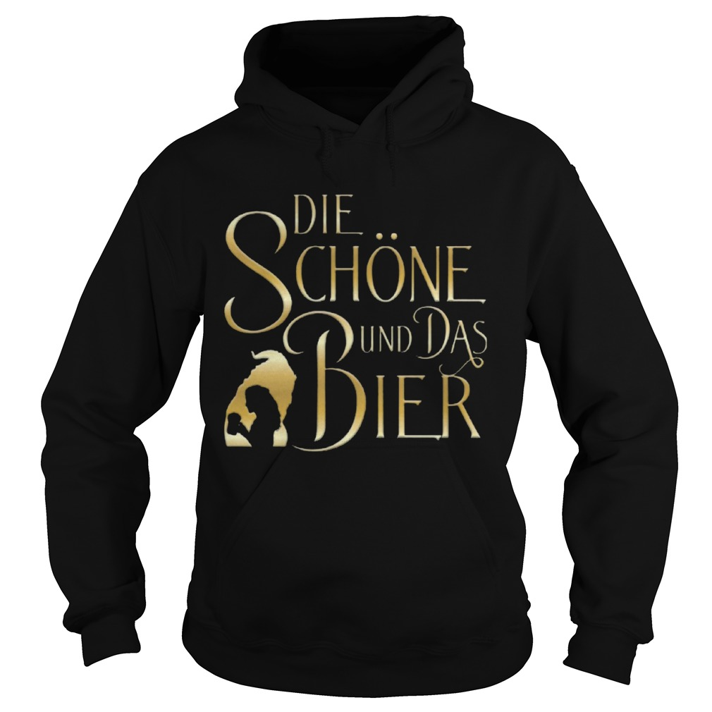 Beauty And The Beast Die Schne Und Das Bier  Hoodie