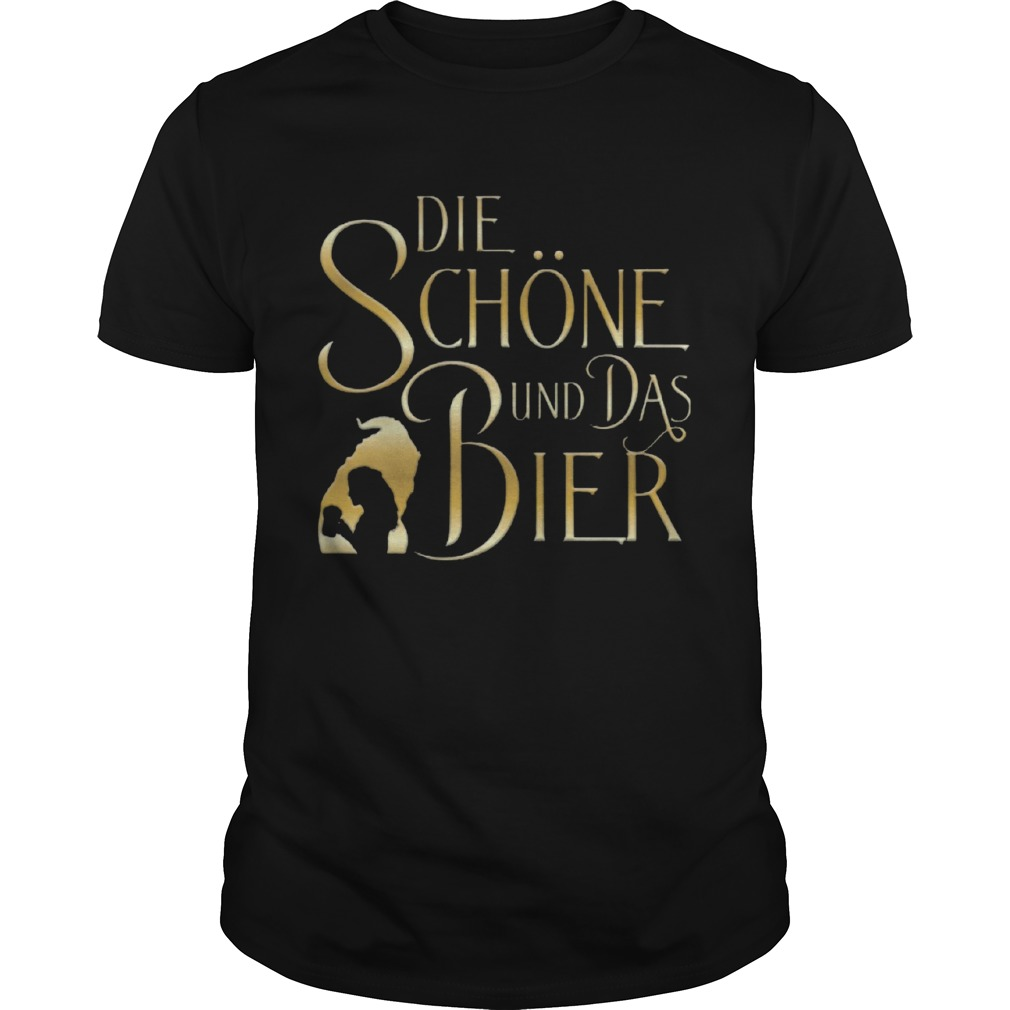 Beauty And The Beast Die Schne Und Das Bier  Unisex
