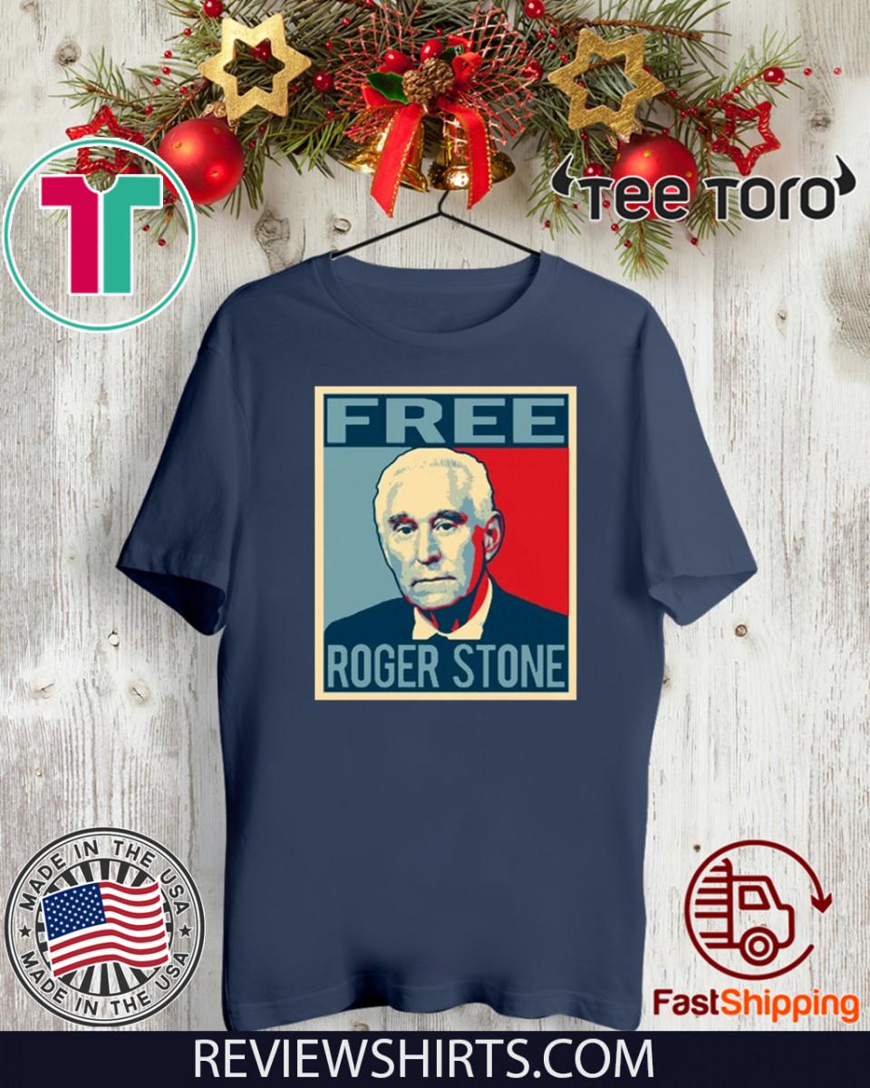 Political Prisoners Christmas 2020 Free Roger Stone Political Prisoner 2020 T Shirt, hoodie