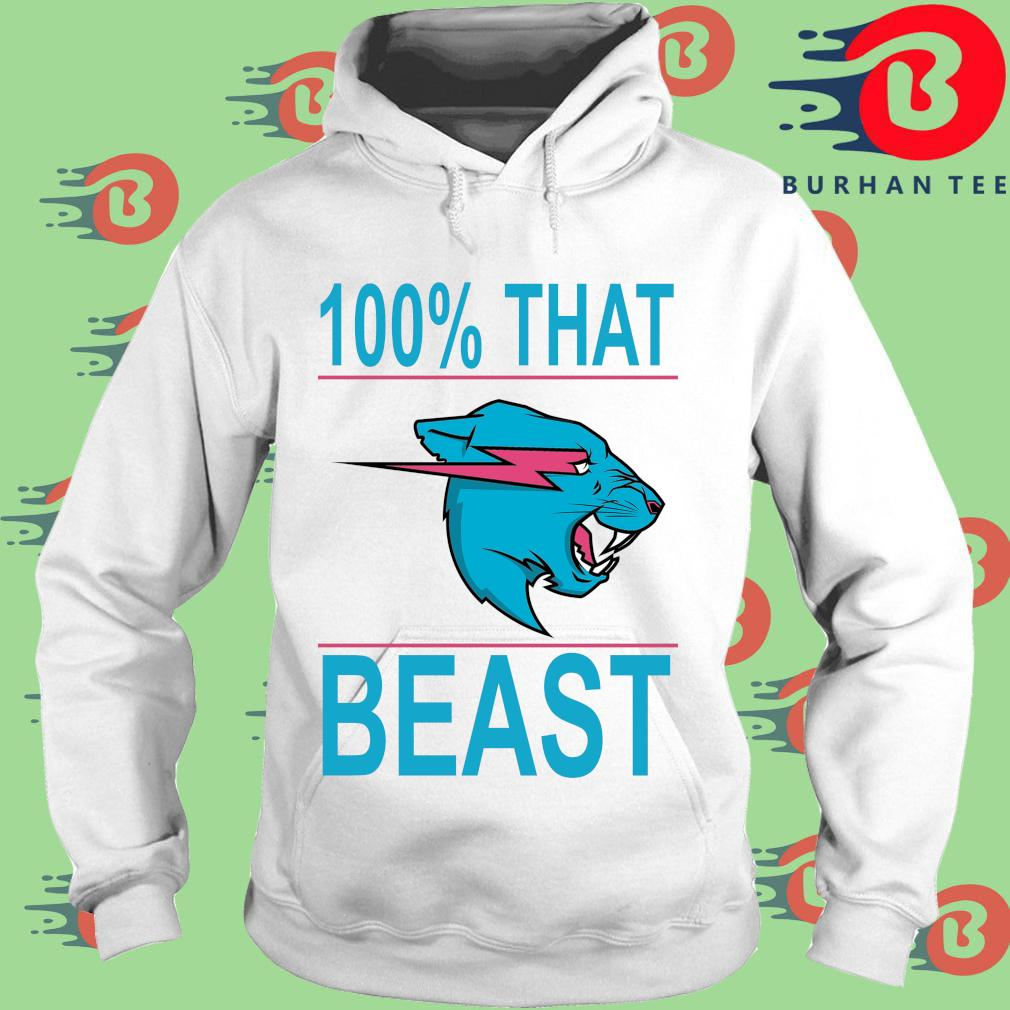 100% that beast Mr Beast s trang Hoodie