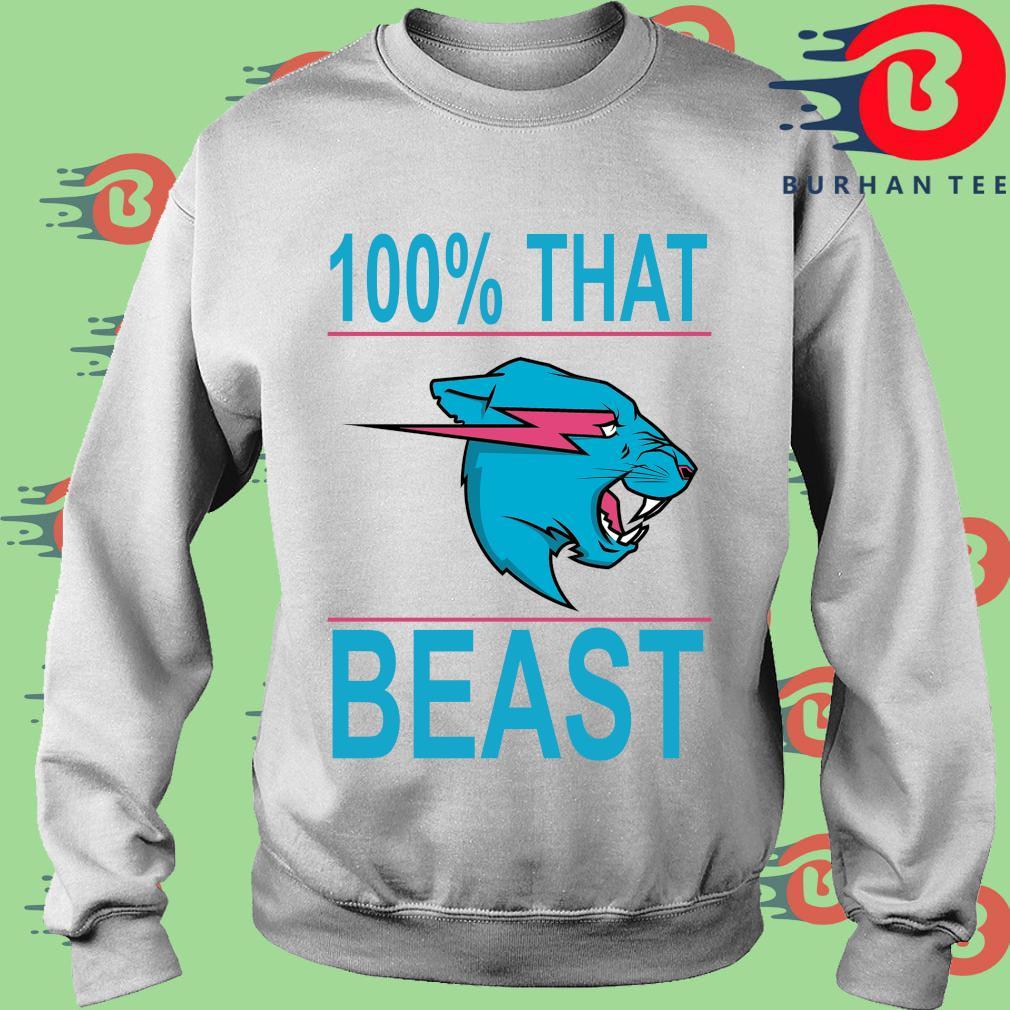 100% that beast Mr Beast s trang Sweater