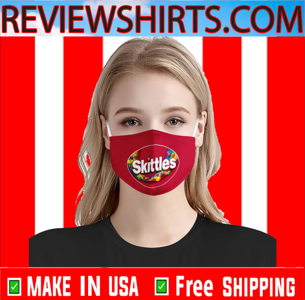 Face Mask Skittles With Filter 2020