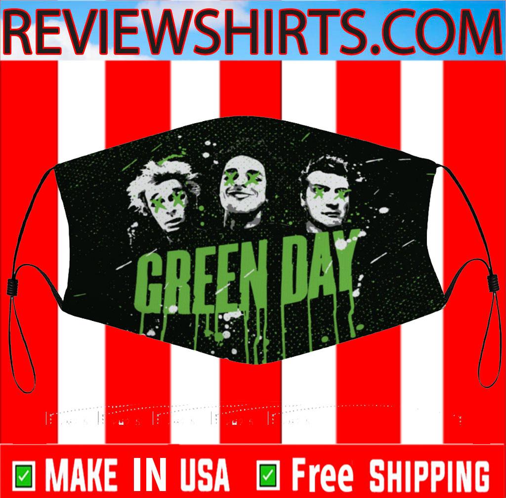 Green Day Masks - Rock band Cloth Face Mask