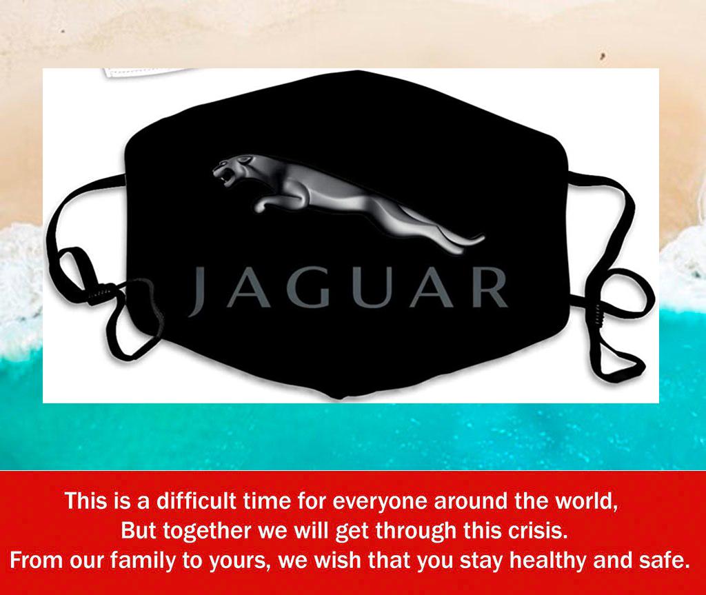 Logo Jaguar Filter Face Mask