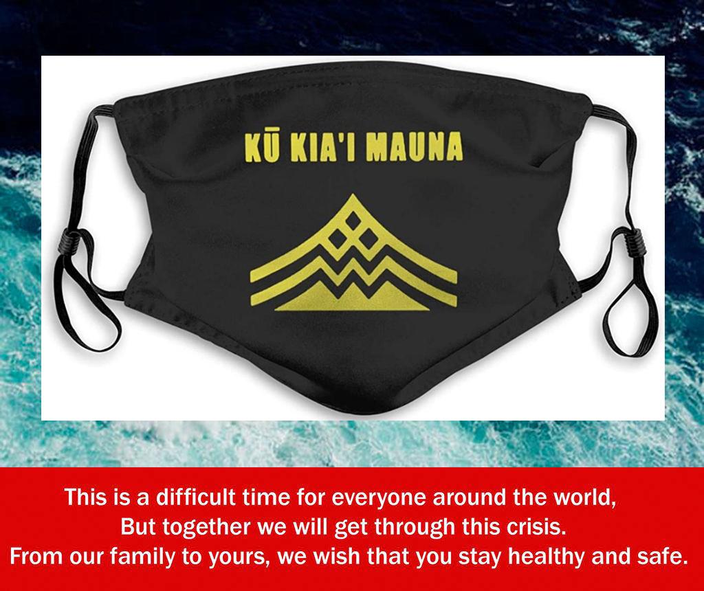 Ku Kiai Mauna Kea Filter Face Mask