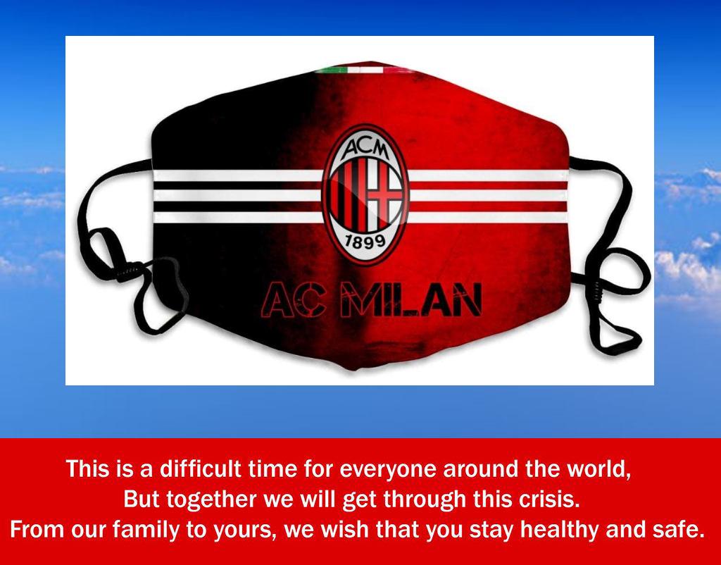 Logo AC Milan Filter Face Mask