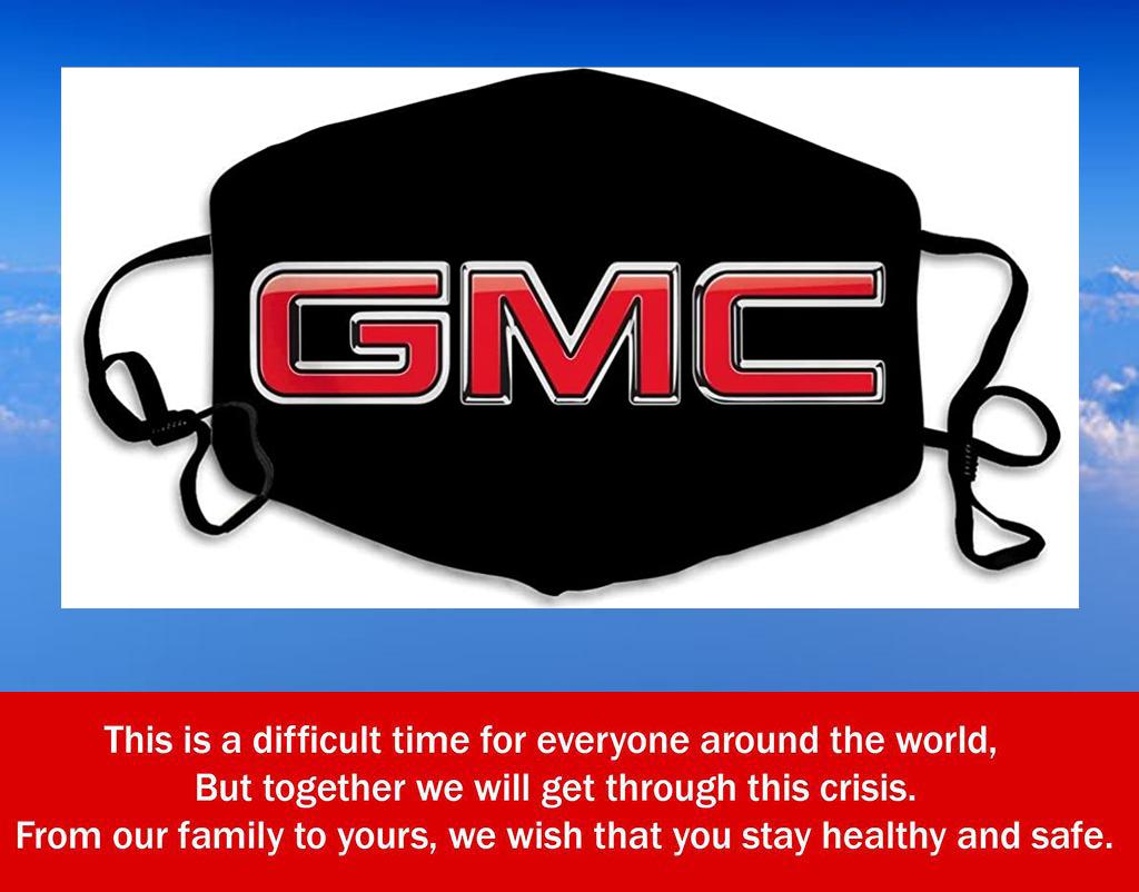 Logo GMC Filter Face Mask