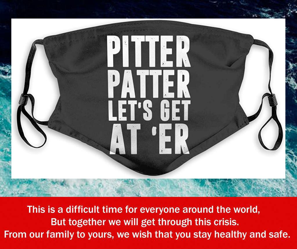 Pitter Patter Letter Kenny Filter Face Mask