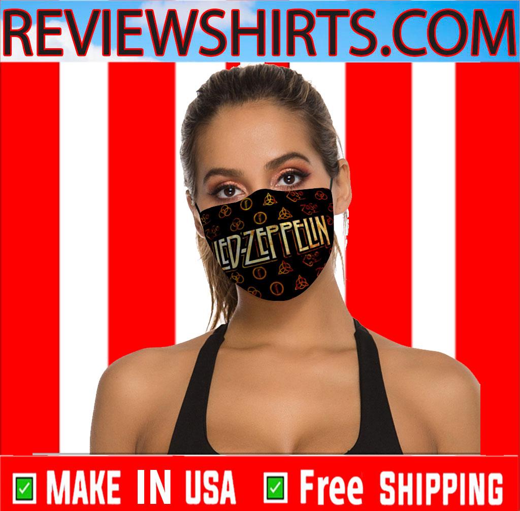 Sale For Masks Led Zeppelin Face Mask