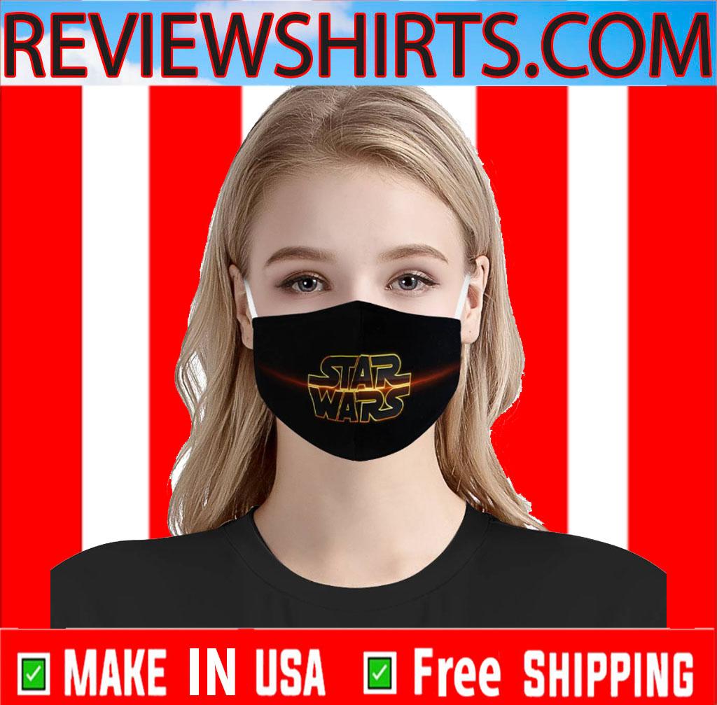 Star Wars Logo Trademark Face Mask
