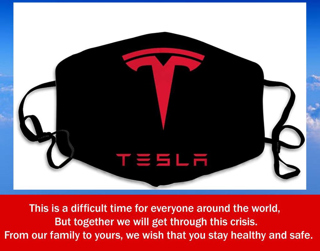 Tesla Filter Face Mask