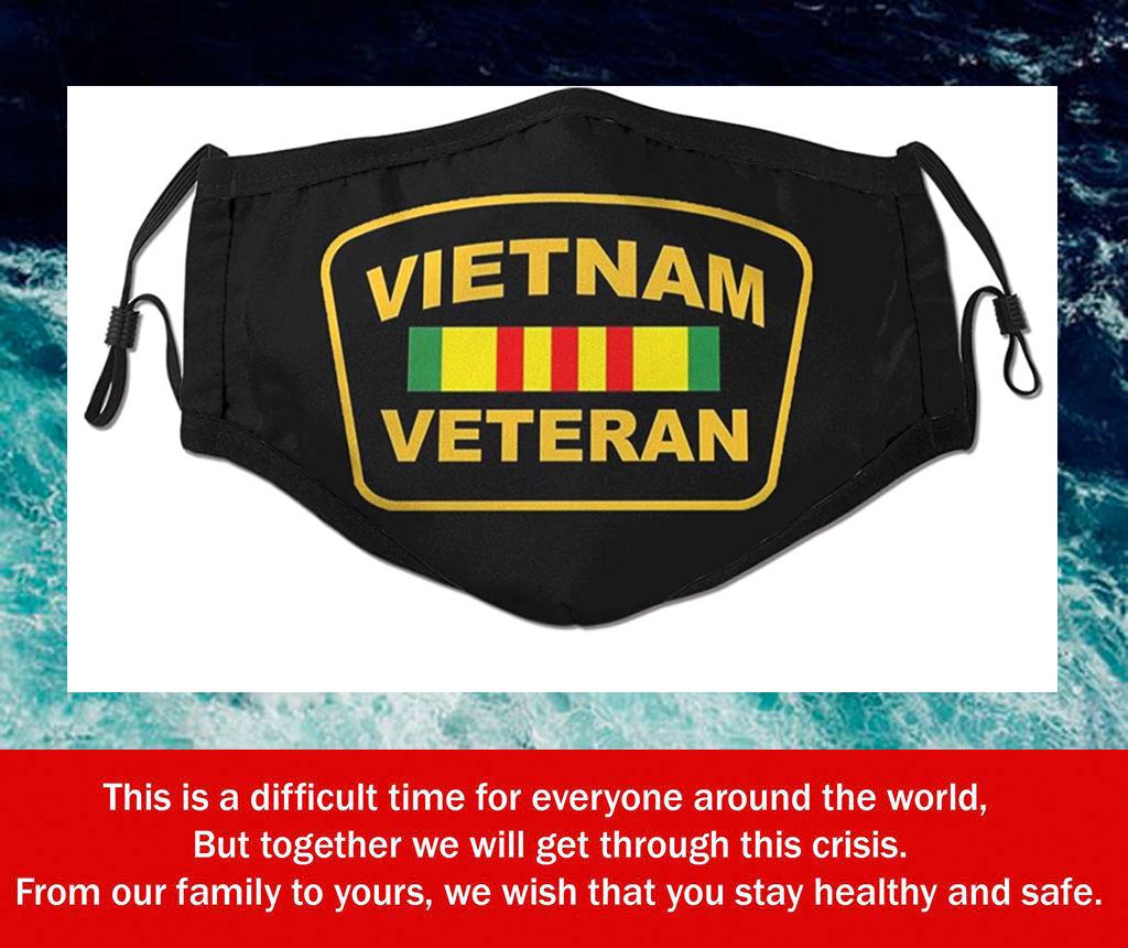 Vietnam Veteran Filter Face Mask
