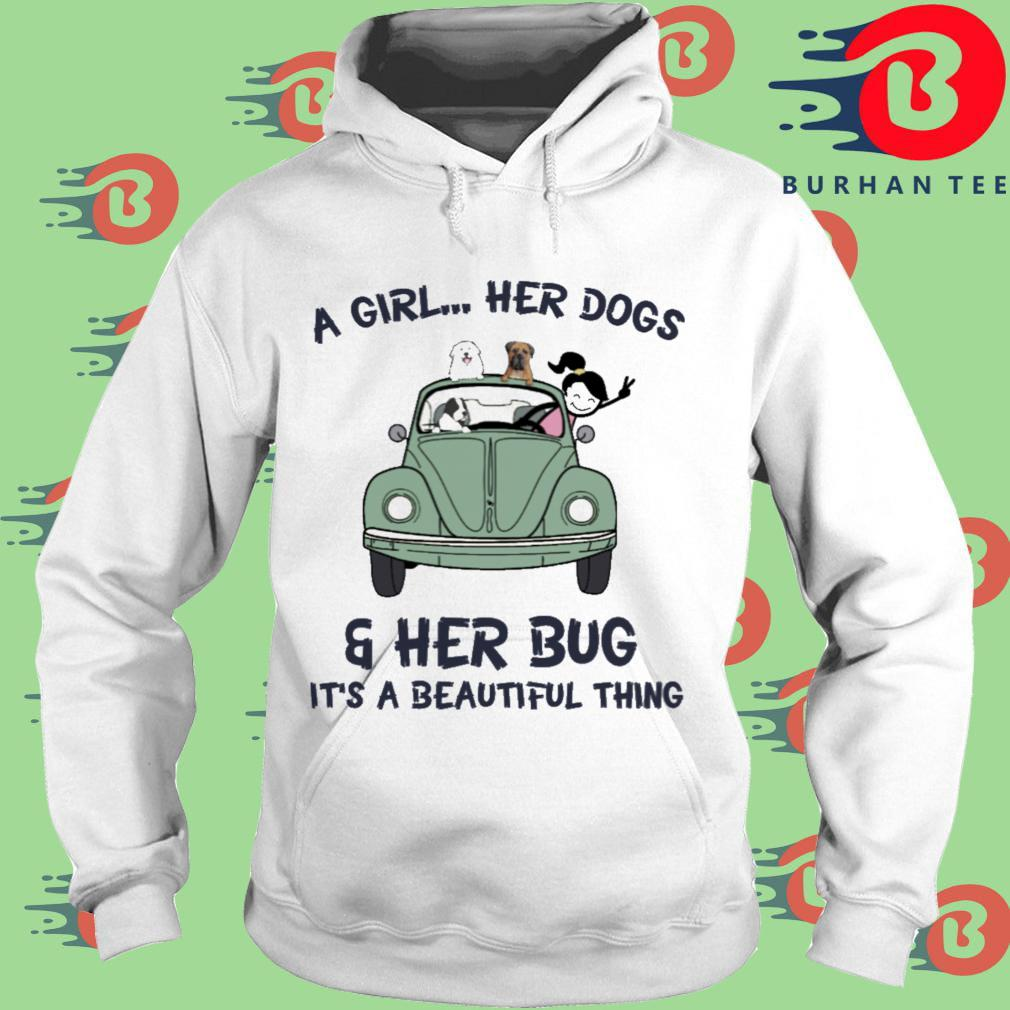 A girl her dogs and her bug it's a beautiful thing s trang Hoodie