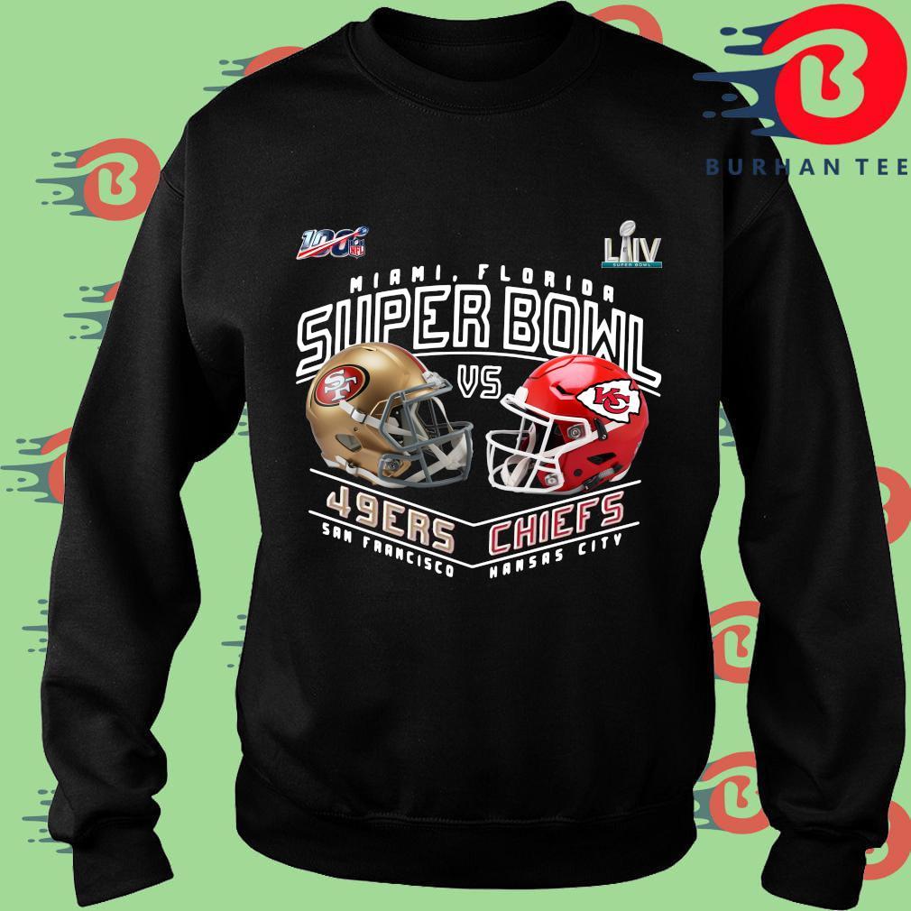San Francisco 49ers vs Kansas City Chiefs Super Bowl s Sweater
