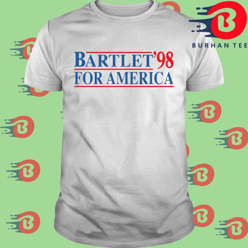 Bartlet '98 for America shirt