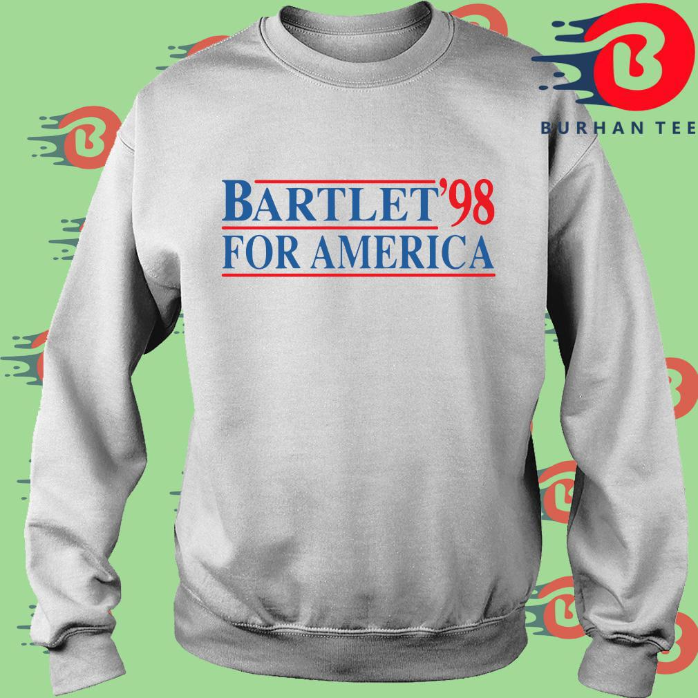 Bartlet '98 for America s trang Sweater