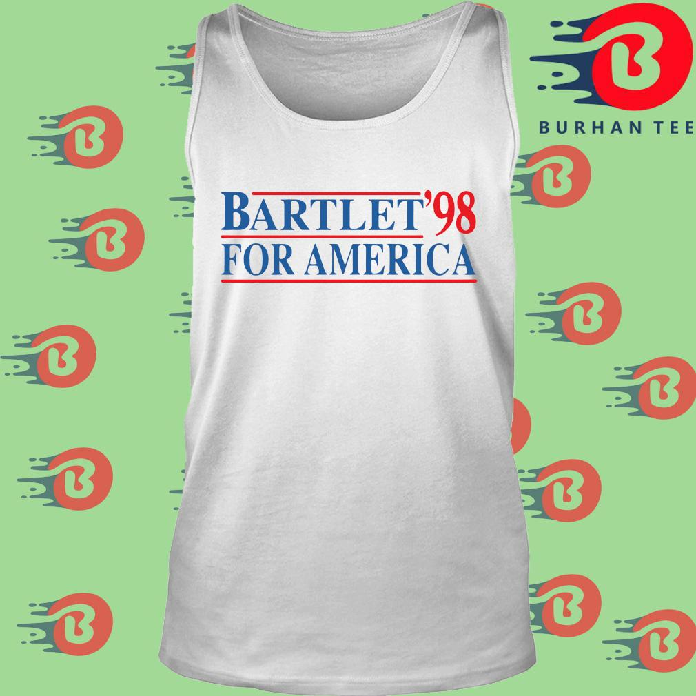 Bartlet '98 for America s trang Tank top