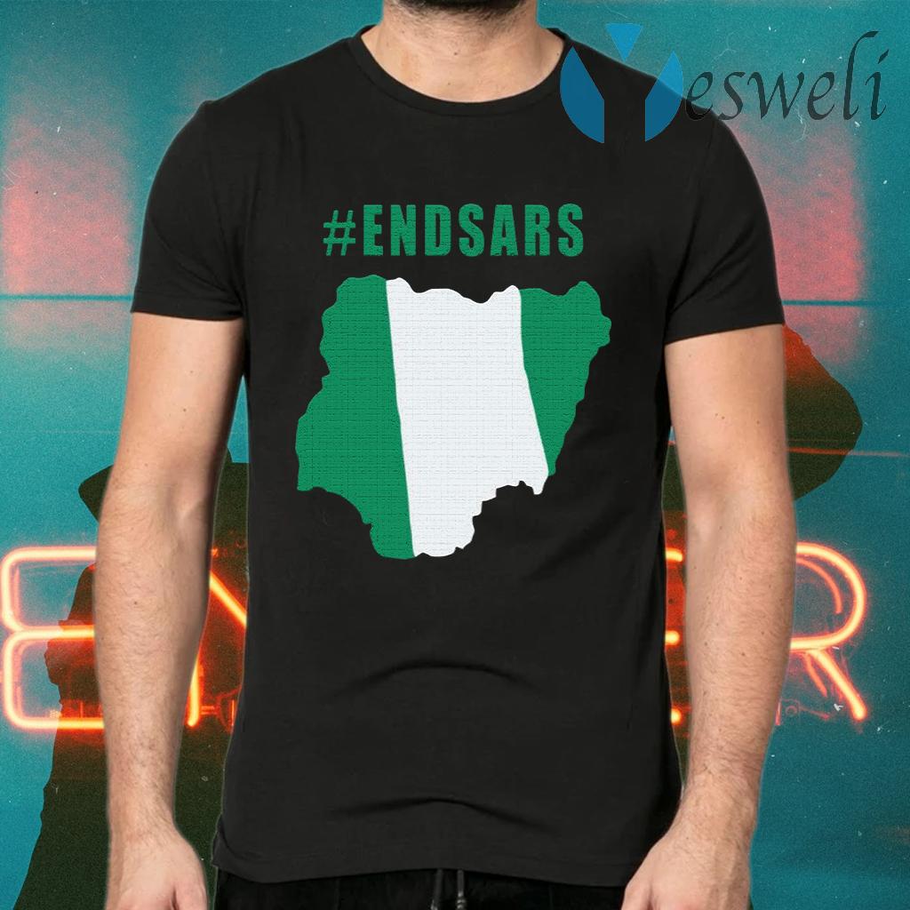 #EndSARS T-Shirts