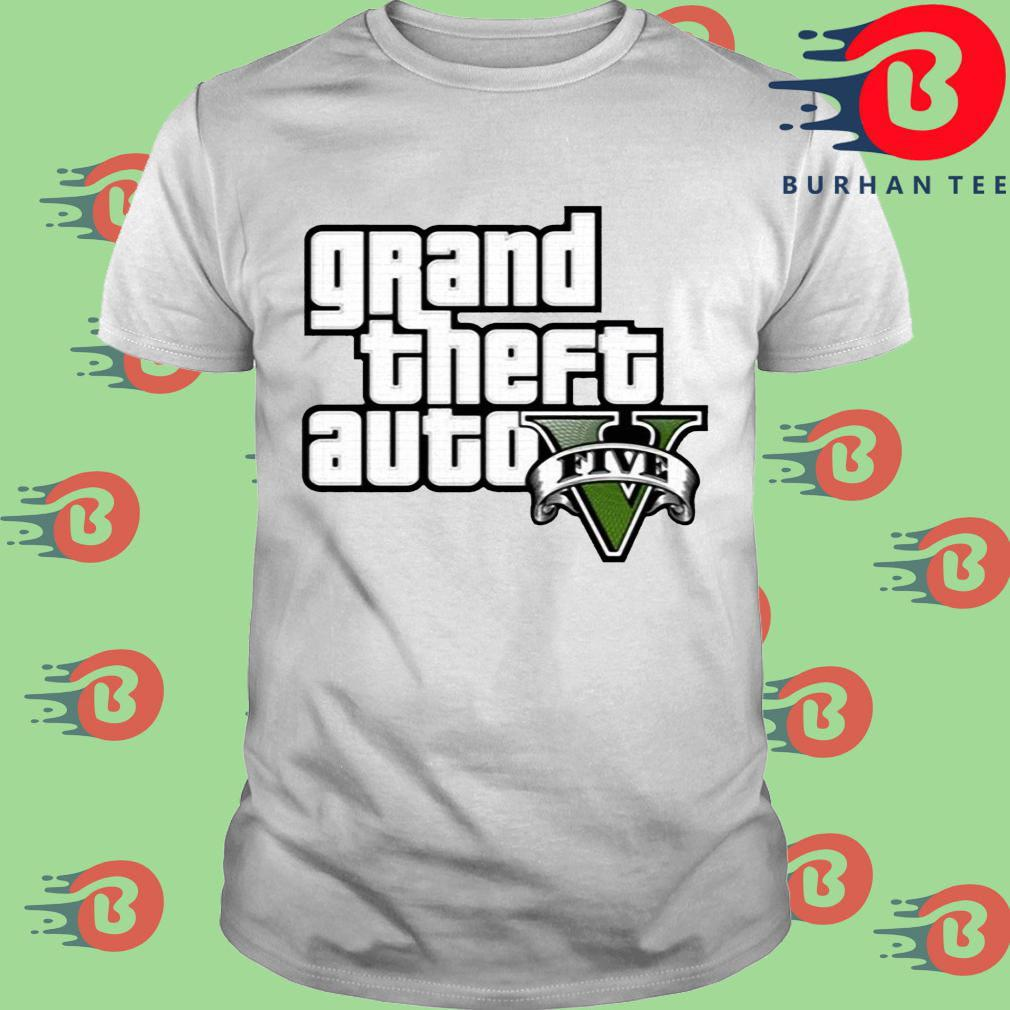 Grand Theft Auto V Logo Shirt