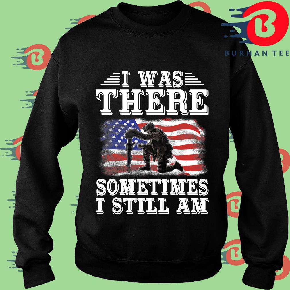 I was there something I still am American flag s Sweater