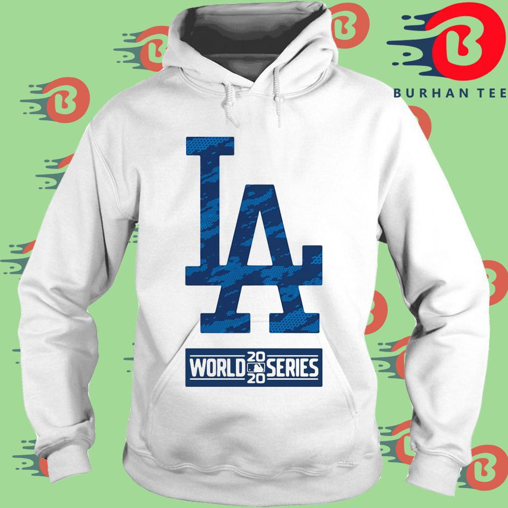 Los Angeles Dodgers 2020 world series s trang Hoodie