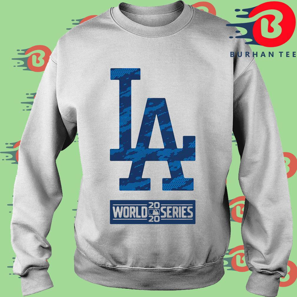 Los Angeles Dodgers 2020 world series shirt