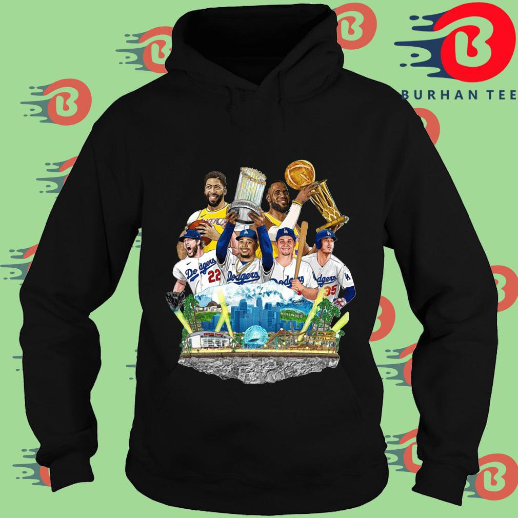 Los Angeles Dodgers And Los Angeles Lakers Champions 2020 s Hoodie