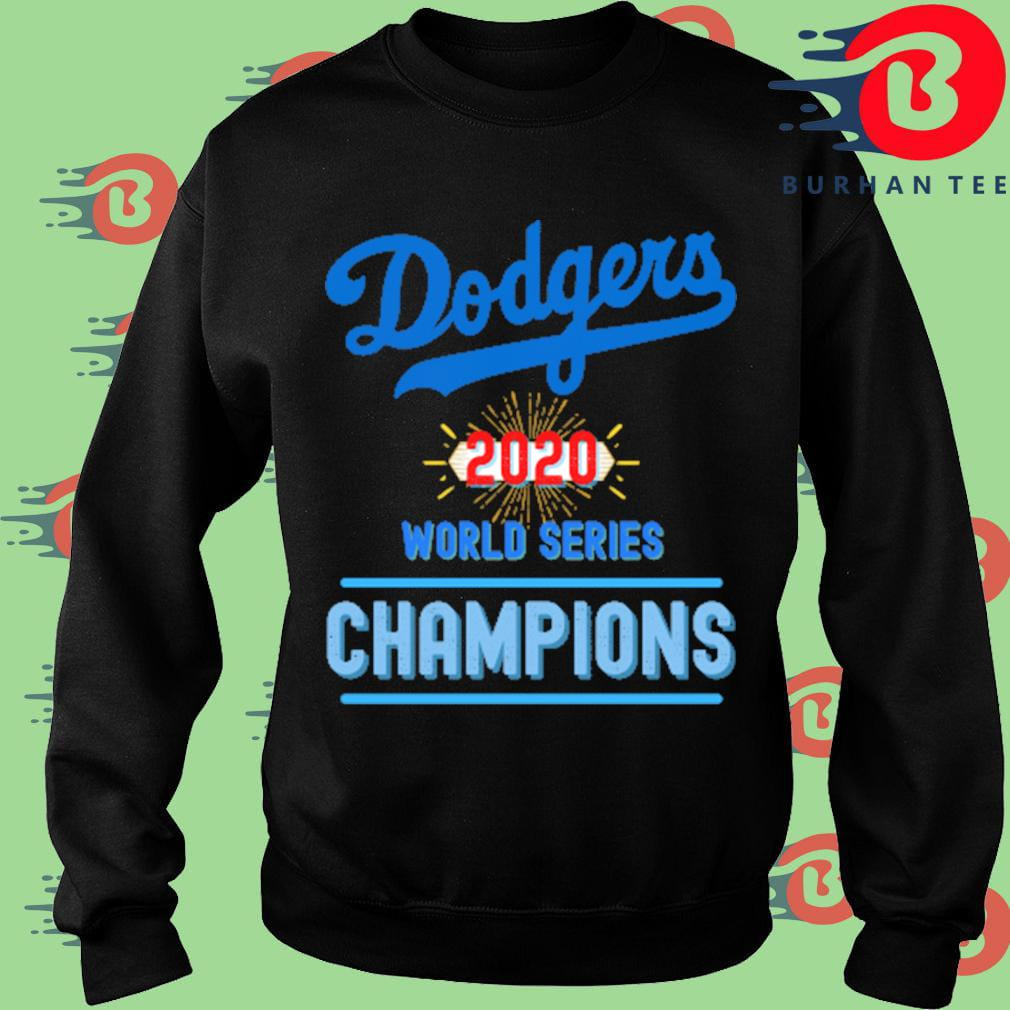 Los Angeles Dodgers baseball 2020 world series Champions shirts
