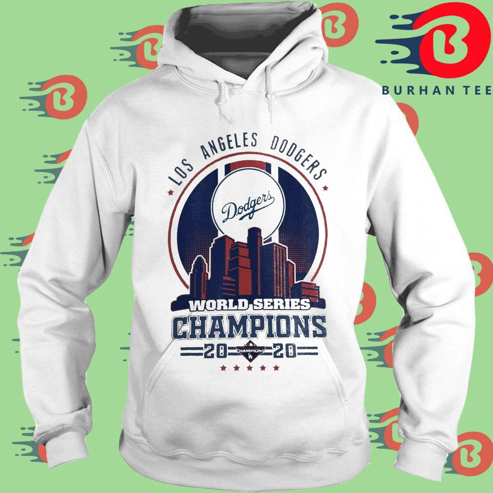 Los Angeles Dodgers world series Champions 2020 tee s trang Hoodie