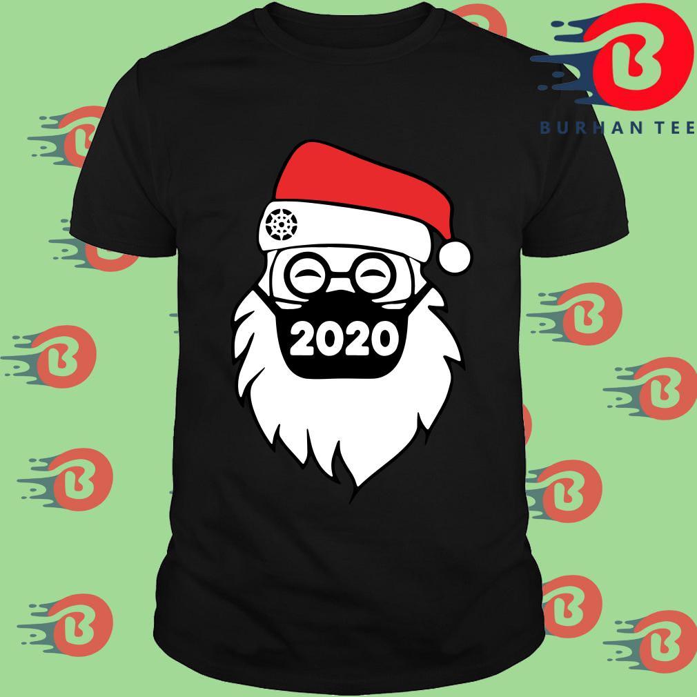 Santa Face Mask 2020 Christmas Sweater