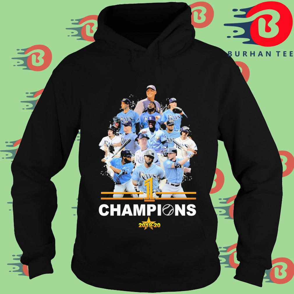 Tampa Bay Rays 1 Champions 2019-2020 s Hoodie