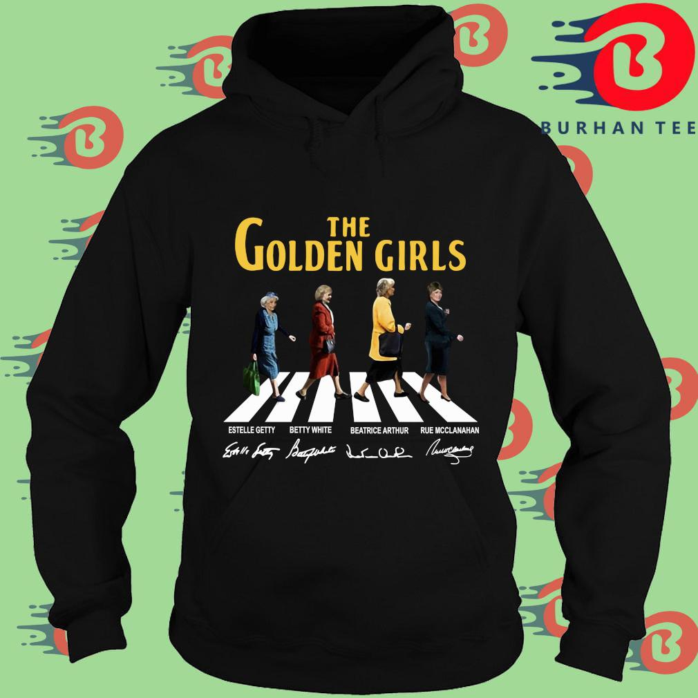 The Golden Girls Abbey Road Signatures Shirt Hoodie