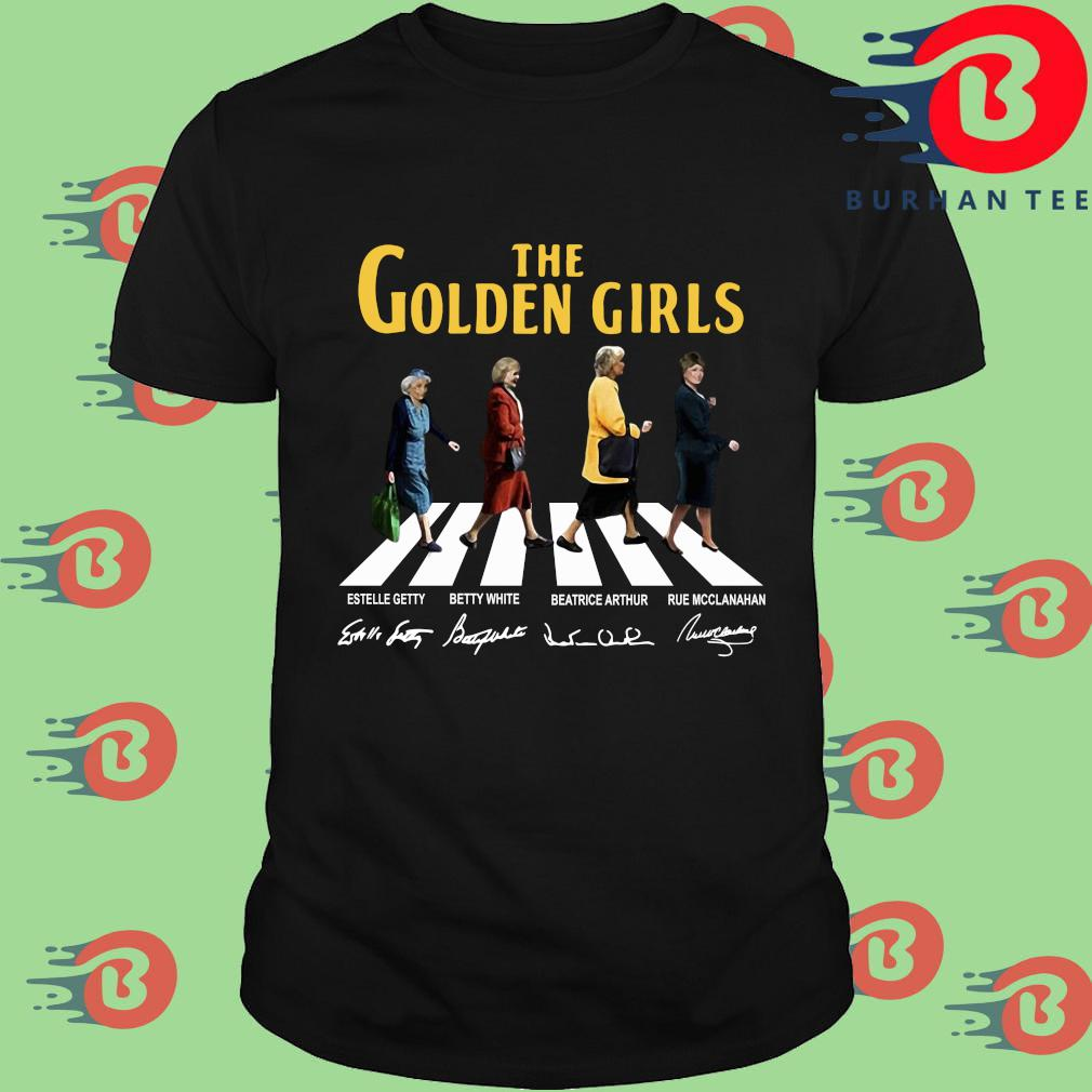 The Golden Girls Abbey Road Signatures Shirt