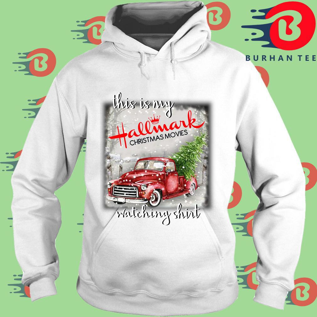 This is my Hallmark Christmas movie watching s trang Hoodie