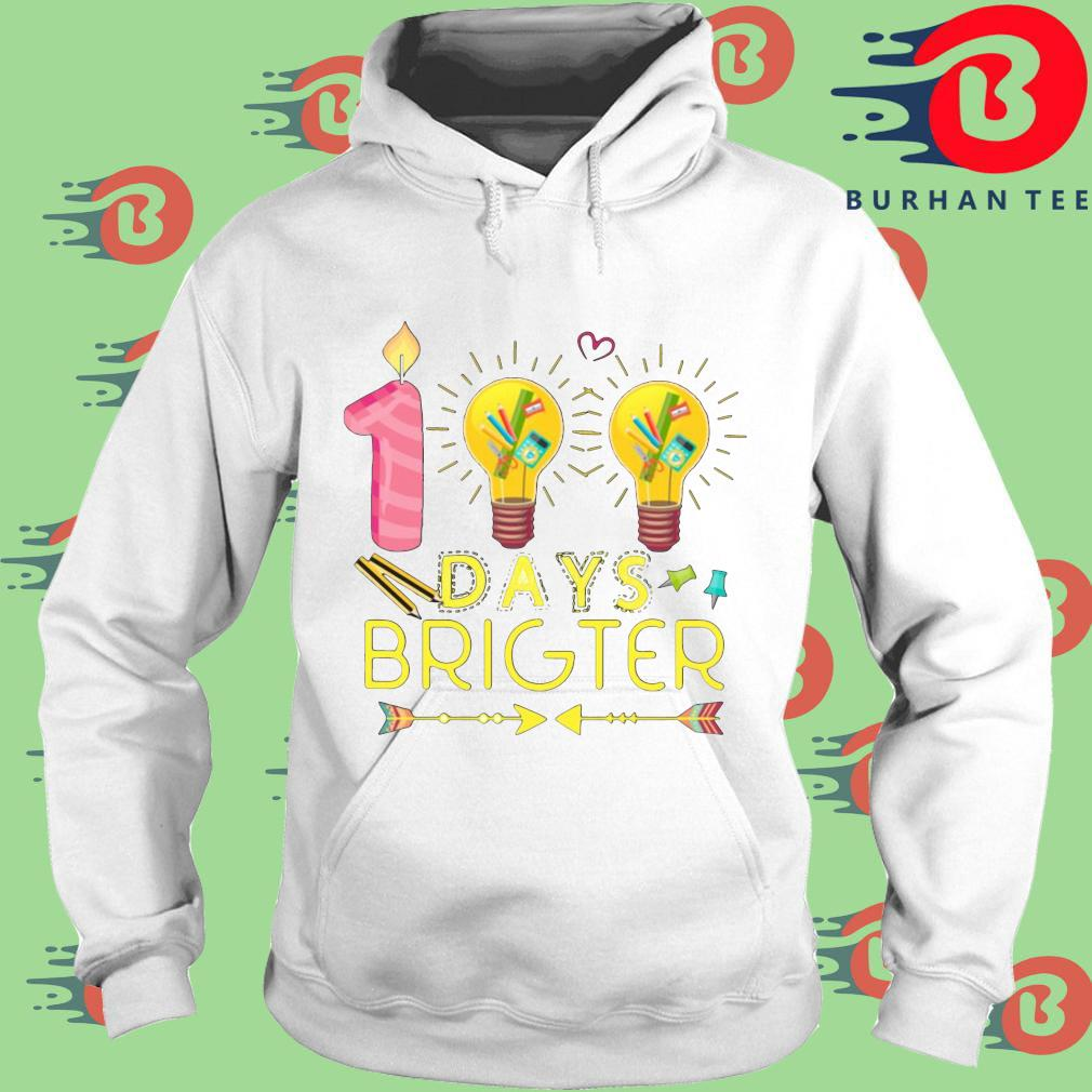 100 days brighter s trang Hoodie
