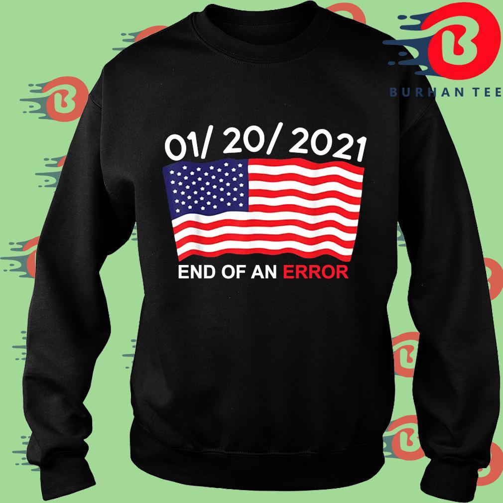 01 20 2021 end of an error American s Sweater