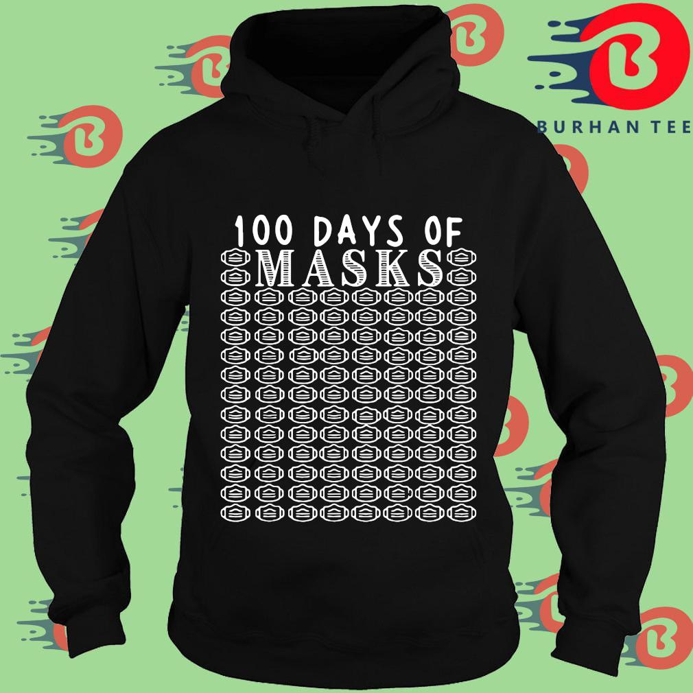 100 days of mask s Hoodie